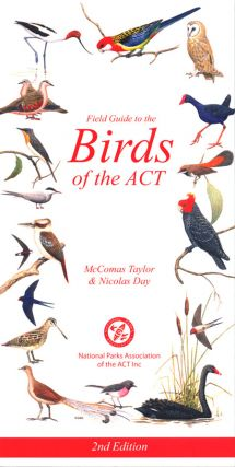 Field guide to the birds of the ACT.