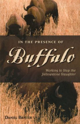 In the presence of Buffalo: working to stop the Yellowstone slaughter. Daniel Brister