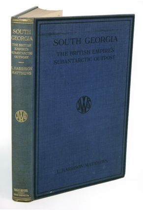 South Georgia, the British Empire's subantarctic post: a synopsis of the history of the island....