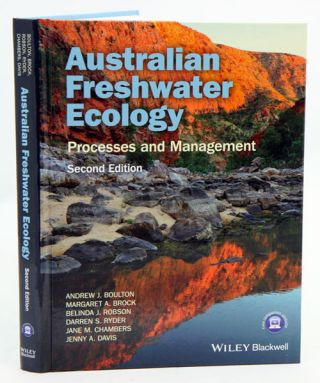 Australian freshwater ecology: processes and management. Andrew Boulton.