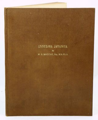 Annulosa Javanica, or an attempt to illustrated the natural affinities of the insects collected...