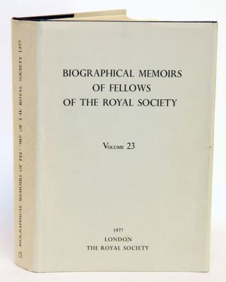 Biographical Memoirs of Fellows of The Royal Society, volume 48