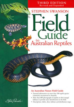 Field guide to Australian reptiles. Stephen Swanson