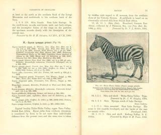 Catalogue of the ungulate mammals in the British Museum (Natural History), volume five [only].