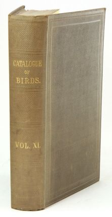 Catalogue of the Passeriformes, or perching birds, in the Collection of the British Museum....