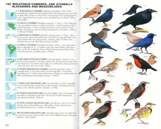 Collins field guide birds of South America: passerines from Sapayoa to finches.