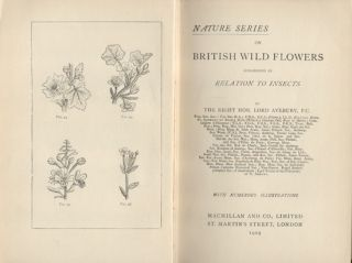 British wild flowers considered in relation to insects.