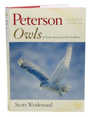 Peterson reference guide to owls of North America and the Caribbean.