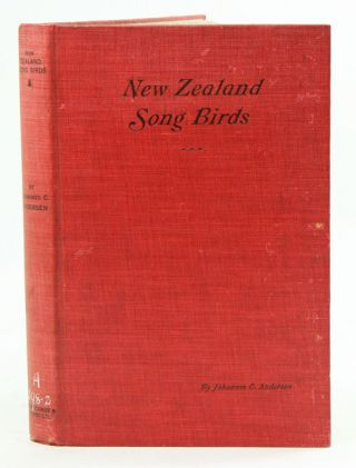 Bird-song and New Zealand song birds. Johannes C. Andersen