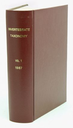 Invertebrate taxonomy. G. N. Berry