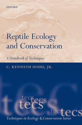 Reptile ecology and conservation: a handbook of techniques