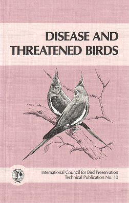 Disease and threatened birds. J. E. Cooper.