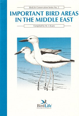 Important bird areas in the Middle East. M. I. Evans