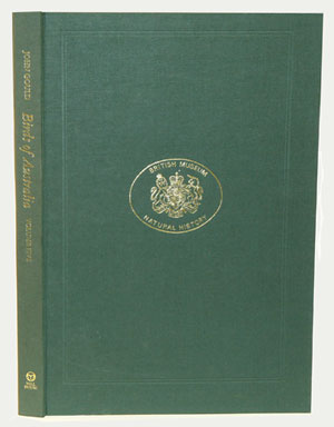The birds of Australia, volume five [facsimile, the parrot volume