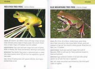 Frogs of Australia: Reed concise guide.