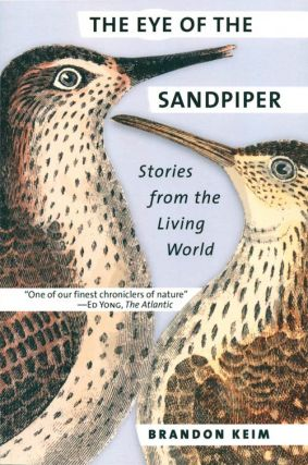 The eye of the sandpiper: stories from the living world. Brandon Keim.
