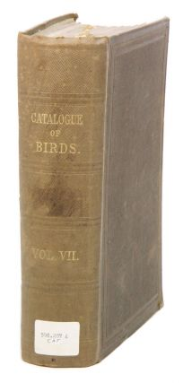 Catalogue of the Passeriformes, or perching birds in the Collection of the British Museum....