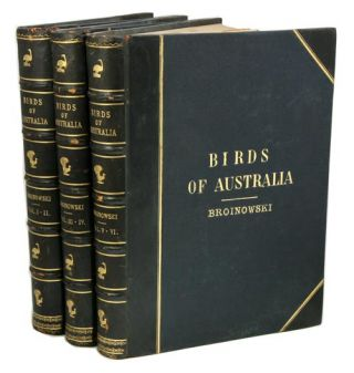 The birds of Australia, comprising three hundred full-page illustrations with a descriptive...