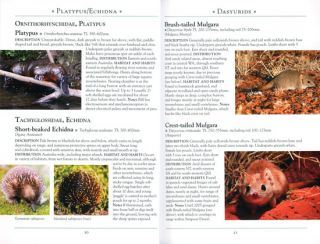 Australian Geographic: a naturalist's guide to the mammals of Australia.