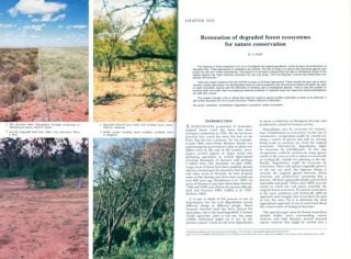 Conservation biology in Australia and Oceania.