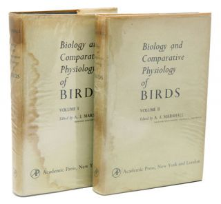 Biology and comparative physiology of birds. A. J. Marshall