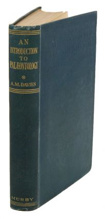 An introduction to palaeontology. A. Morley Davies
