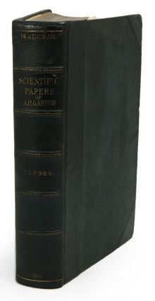The collected scientific papers of the late Alfred Henry Garrod. W. A. Forbes