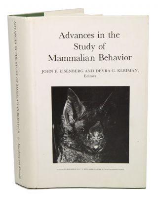 Advances in the study of mammalian behaviour. Eisenberg. John. F., Devra G. Kleinman