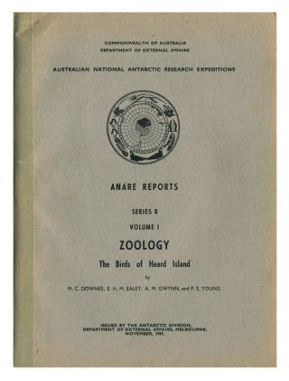 Zoology: the birds of Heard island. M. C. Downes