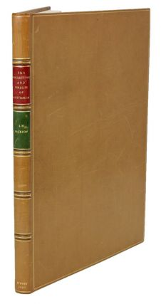 "Egg collecting and bird life of Australia: catalogue and date of the ""Jacksonian Oological..."