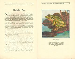 The Weekly Times wild nature book.