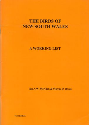 The birds of New South Wales: a working list