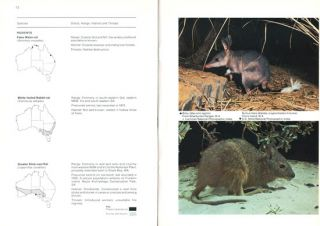 Endangered vertebrates of Australia and its island territories.