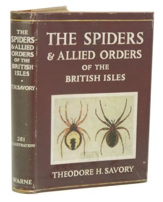 The spiders and allied orders of the British Isles, comprising descriptions of every family of...