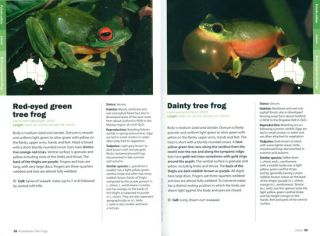 A complete guide to frogs of Australia.