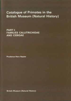Catalogue of primates in the British Museum (Natural History), part one: Families Callitrichidae...