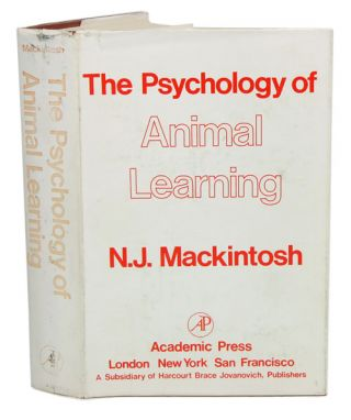 The psychology of animal learning. N. J. Mackintosh