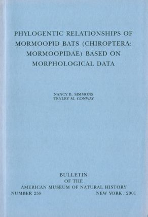 Phylogenetic relationships of Mormoopid bats (Chiropters: Moroopidae) based on morphological...