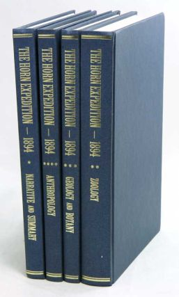 Report on the work of the Horn Scientific Expedition to Central Australia, four volumes [facsimile