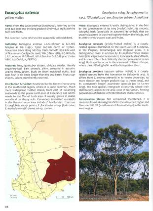 Eucalypts of Western Australia: the south-west coast and ranges.