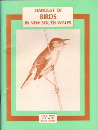 Handlist of birds in New South Wales