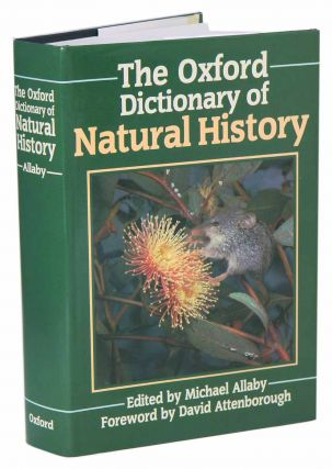 The Oxford dictionary of natural history. Michael Allaby