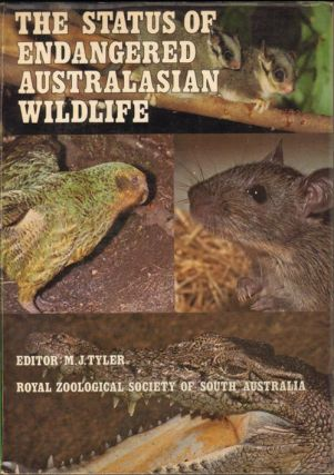 The status of endangered Australasian wildlife. Michael J. Tyler