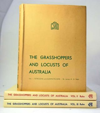 The grasshoppers and locusts of Australia. James A. G. Rehn