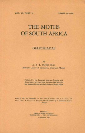 The moths of South Africa: Gelechiadae. A. J. T. Janse