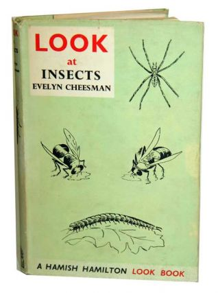 Look at insects. Evelyn Cheesman