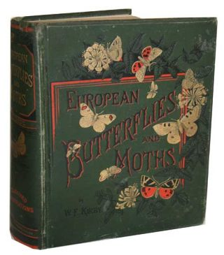 European butterflies and moths. W. F. Kirby