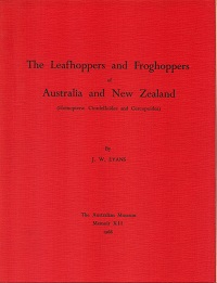 The leafhoppers and froghoppers of Australia and New Zealand (Homoptera: Cicadelloidea and...