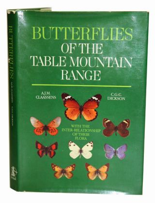 Butterflies of the Table Mountain range: with comprehensive observations on their habits, times...
