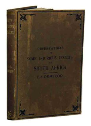 Notes and descriptions of a few injurious farm and fruit insects of South Africa with...